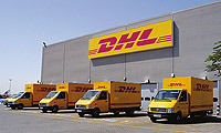 DHL Couriers, Paphos, Cyprus