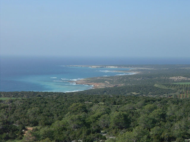 Lara bay, Akamas area