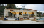 PP163, New - Stone built bungalow in Giolou for sale