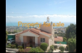 Peyia villa for sale, 4 bedroom with pool and views. PP166