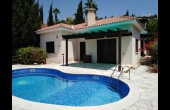 PP238, Three Bedroom Bungalow in Kamares with Private swimming pool